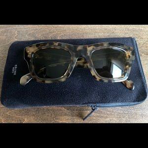 Celine Tortoise Sunglasses